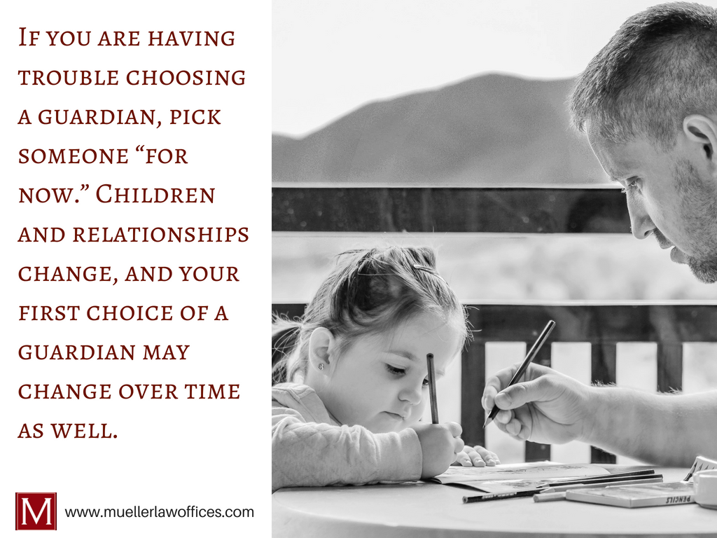 Does my child need a guardian? Connect with Isabell Mueller of Milwaukee, Wisconsin, to learn more.